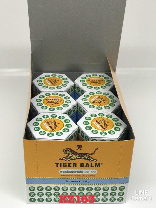 ยาหม่องตราเสือ ขาว ( 19.4 กรัม )